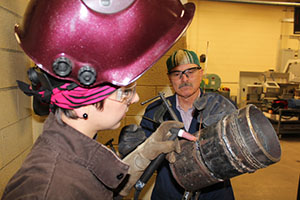 Advanced Welding - Fall 2014