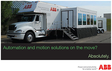 ABB Rolling Road Show-Class: Considering Drives and Motors as a Package 12:00-1:00 pm